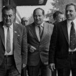 Леонид Аркадьевич Костандов, министр химической промышленности СССР, и его заместитель, верный и надёжный друг Сергей Викторович Голубков.